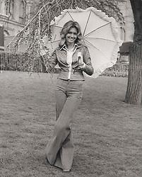Apr 04, 1974 - Brighton, England, United Kingdom - OLIVIA NEWTON-JOHN walking about in the streets..(Credit Image: © Keystone Press Agency/Keystone USA via ZUMAPRESS.com)