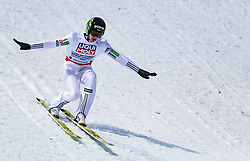 20.01.2018, Heini Klopfer Skiflugschanze, Oberstdorf, GER, FIS Skiflug Weltmeisterschaft, Einzelbewerb, im Bild Peter Prevc (SLO) // Peter Prevc of Slovenia during individual competition of the FIS Ski Flying World Championships at the Heini-Klopfer Skiflying Hill in Oberstdorf, Germany on 2018/01/20. EXPA Pictures © 2018, PhotoCredit: EXPA/ JFK