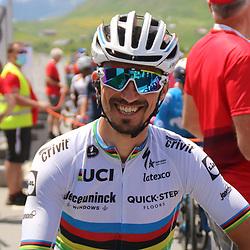 DISENTIS SEDRUM (SUI) CYCLING<br /> Tour de Suisse stage 5<br /> <br /> <br /> Birthday boy Julian Alaphilippe (France / Team Deceuninck - Quick Step)