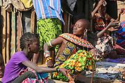 Samburu Maasai woman. Samburu Maasai an ethnic group of semi-nomadic people Photographed in Samburu, Kenya