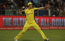 Mitchell Marsh of Australia during the 3rd ODI match between South Africa and Australia held at Kingsmead Stadium in Durban, Kwazulu Natal, South Africa on the 5th October  2016<br /> <br /> Photo by: Steve Haag/ RealTime Images