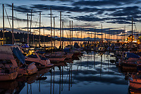 Fiddlehead Marina, West Bay @ Sunset