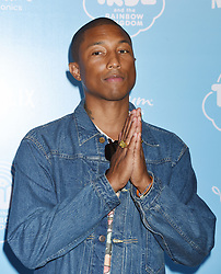 Netflix Original Series 'True And The Rainbow Kingdom' Los Angeles Sneek Peek held at the Pacific Theatres at The Grove. 10 Aug 2017 Pictured: Pharrell Williams. Photo credit: Janet Gough / AFF-USA.COM / MEGA TheMegaAgency.com +1 888 505 6342