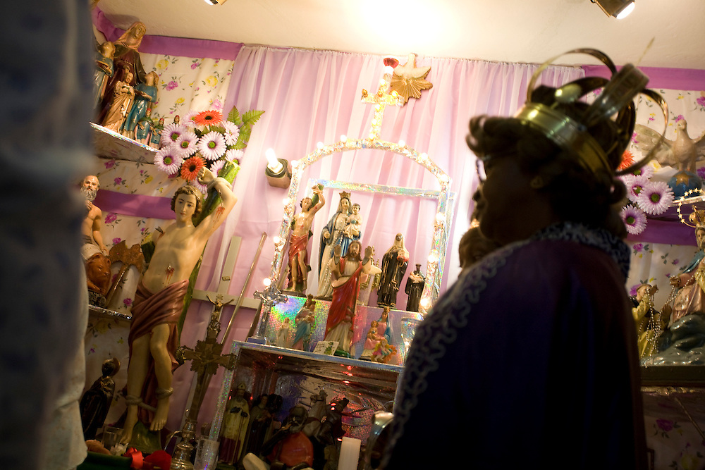 Belo Horizonte_MG, Brasil...Festa de Congado no Nova Floresta, Minas Gerais...The Congado party in Nova Floresta, Minas Gerais...Foto: LEO DRUMOND / NITRO.