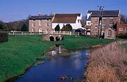 A911YC Former water mill buildings River Deben Wickham Market Suffolk England