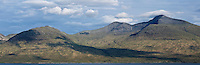 Summit of Ben More (966m), the highest mountain on Isle of Mull, Scotland