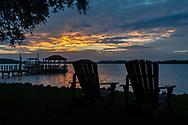 Sunset at Lake Norman
