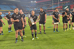 Pretoria, Loftus Versveld Stadium. Rugby Championship. South African Springboks vs New Zealand All Blacks.  06-10-18 The All Blacks do a lap of honour after beating the boys in the final few minutes. <br /> Picture: Karen Sandison/African News Agency(ANA)
