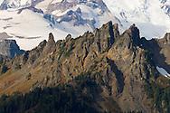 The Cowlitz Chimneys in Mount Rainier National Park