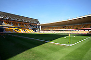 Molineux during the Sky Bet Championship match between Wolverhampton Wanderers and Leeds United at Molineux, Wolverhampton, England on 6 April 2015. Photo by Alan Franklin.