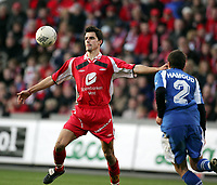 Fotball, 7. november 2004, NM-finale herrer , cupfinale , Brann - Lyn 4-1, Paul Scharner, Brann