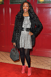 © Licensed to London News Pictures. 08/03/2016. BEVERLEY KNIGHT attends the Motown The Musical press night. Motown hits featured in the production include Dancing In The Street, I Heard It Through The Grapevine and My Girl. London, UK. Photo credit: Ray Tang/LNP