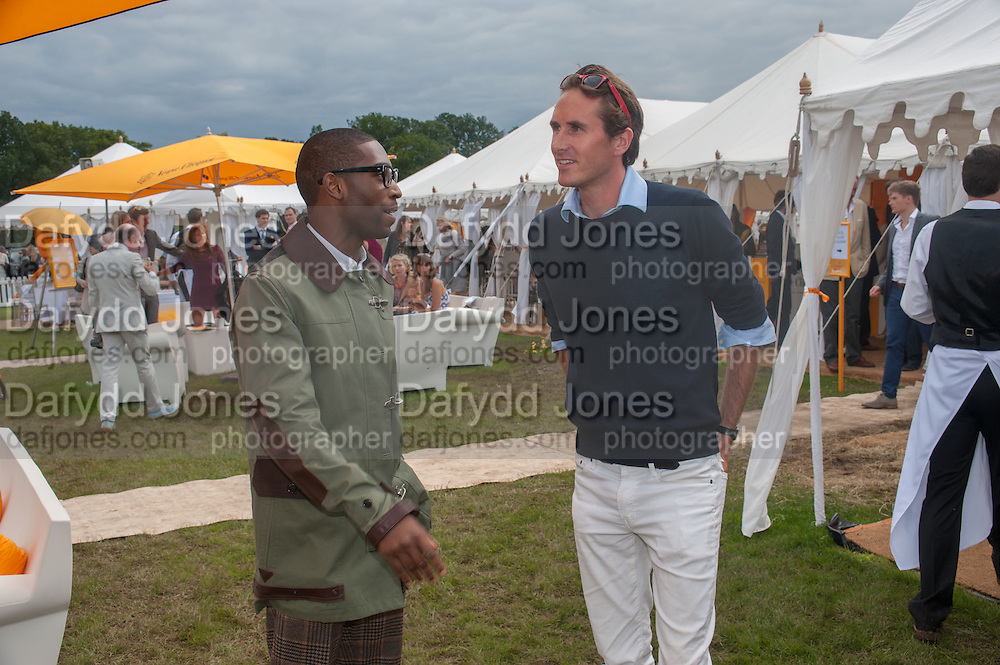 TINY TEMPAH; OTIS FERRY; , The Veuve Clicquot Gold Cup Final.<br /> Cowdray Park Polo Club, Midhurst, , West Sussex. 15 July 2012.