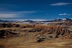 Dubois Badlands, Absaroka Mountains,  Dubois, Wyoming