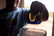 Indaiabira_MG, Brasil.<br /> <br /> ASA, Projeto Um Milhao de Cisternas, cisternas instaladas em residencias da comunidade de Caicara. Na foto, homem fazendo suco de manga.<br /> <br /> ASA, Project One Million cisterns, cistern installed on Caicara community residences. In this photo a man preparing mango juice.<br /> <br /> Foto: LEO DRUMOND / NITRO