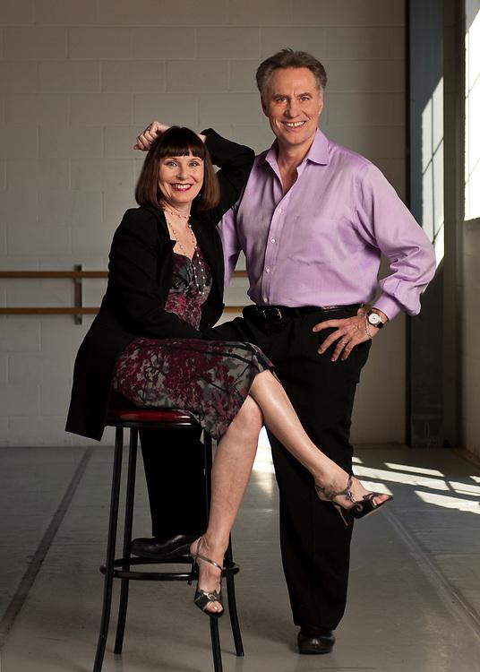 Jean-Pierre Bonnefoux and Patricia McBride of the North Carolina Dance Theatre