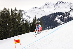 04.03.2021, Saalbach Hinterglemm, AUT, FIS Weltcup Ski Alpin, Abfahrt, Herren, 2. Training, im Bild Gilles Roulin (SUI) // Gilles Roulin of Switzerland during the 2nd training for the men's Downhill Race of FIS ski alpine world cup in Saalbach Hinterglemm, Austria on 2021/03/04. EXPA Pictures © 2021, PhotoCredit: EXPA/ Johann Groder