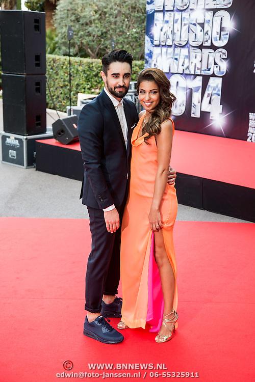 MON/Monaco/20140527 -World Music Awards 2014, Tal Benyerzi en Anthony Such