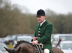 © Licensed to London News Pictures. 25/01/2009. Chipping Norton, Oxfordshire. Heythrop Hunt Point to Point. Heythrop Hunt became the first in the UK to be convicted of illegally killing foxes. Heythrop Huntsmen Julian Barnfield and Richard Sumner pleaded guilty to the same charges. Photo credit : MarkHemsworth/LNP