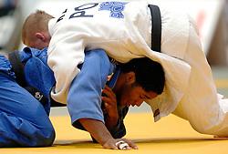 26-05-2006 JUDO: EUROPEES KAMPIOENSCHAP: TAMPERE FINLAND<br /> Dex Elmont werd in de tweede ronde uitgeschakeld<br /> ©2006-WWW.FOTOHOOGENDOORN.NL