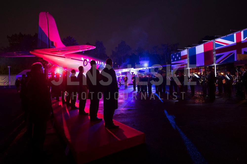 DEU, Deutschland, Germany, Berlin, 11.05.2019: Botschafterinnen und Botschafter der Alliierten Nationen beim Festakt mit Aufführung einer Serenade im Alliiertenmuseum anlässlich des 70. Jahrestags des Endes der sowjetischen Blockade von West-Berlin.