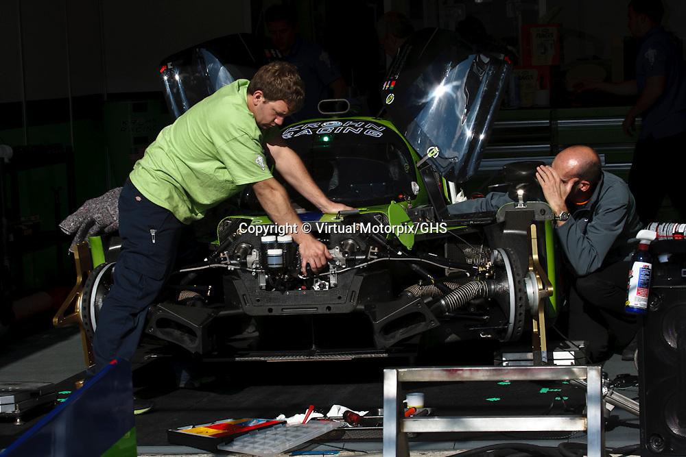 #40 Ligier JS P2-Judd, Krohn Racing, Joao Barbosa, Niclas Jonsson, Tracy Krohn at Le Mans 24H, 2015