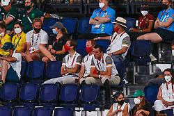 Devos Pieter, BEL, Bruynseels Niels, BEL, Wathelet Gregory, BEL, Weinberg Peter, GER<br /> Olympic Games Tokyo 2021<br /> © Hippo Foto - Dirk Caremans<br /> 01/08/2021