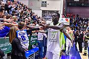 Ousmane Diop<br /> Banco di Sardegna Dinamo Sassari - Falco Vulcano Szomathely<br /> Fiba Europe Cup 2018-2019 Gruppo H<br /> Sassari, 31/10/2018<br /> Foto L.Canu / Ciamillo-Castoria
