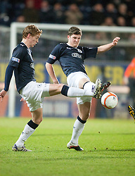 Falkirk's Jay Fulton and Stewart Murdoch. .Falkirk 1 v 1 Dundee..© Michael Schofield.