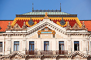 Zolnay Ornamentation on the Bank, Pecs ( Pécs ) - European Cultural City of The Year 2010 , Hungary