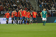 Celebration Goal Moreno Rodrigo (Spain) during the International Friendly Game football match between Germany and Spain on march 23, 2018 at Esprit-Arena in Dusseldorf, Germany - Photo Laurent Lairys / ProSportsImages / DPPI