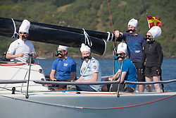 Sailing - SCOTLAND  - 25th-28th May 2018<br /> <br /> The Scottish Series 2018, organised by the  Clyde Cruising Club, <br /> <br /> First days racing on Loch Fyne.<br /> <br /> IRL3307, Jacob VII, John Stamp, Port Edgar, Corby 33<br /> <br /> Credit : Marc Turner<br /> <br /> <br /> Event is supported by Helly Hansen, Luddon, Silvers Marine, Tunnocks, Hempel and Argyll & Bute Council along with Bowmore, The Botanist and The Botanist