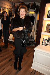 AMBER AIKENS at the launch of 'A Better World' a single by Laura Comfort held at the Ralph Lauren children's store, Old Brompton Road, London on 2nd December 2008.