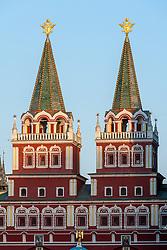 stock photo of russia architecture in red square