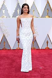 February 26, 2017 - Hollywood, CA - 26 February 2017 - Hollywood, California - Priyanka Chopra.. 89th Annual Academy Awards presented by the Academy of Motion Picture Arts and Sciences held at Hollywood & Highland Center. Photo Credit: AdMedia (Credit Image: © AdMedia via ZUMA Wire)