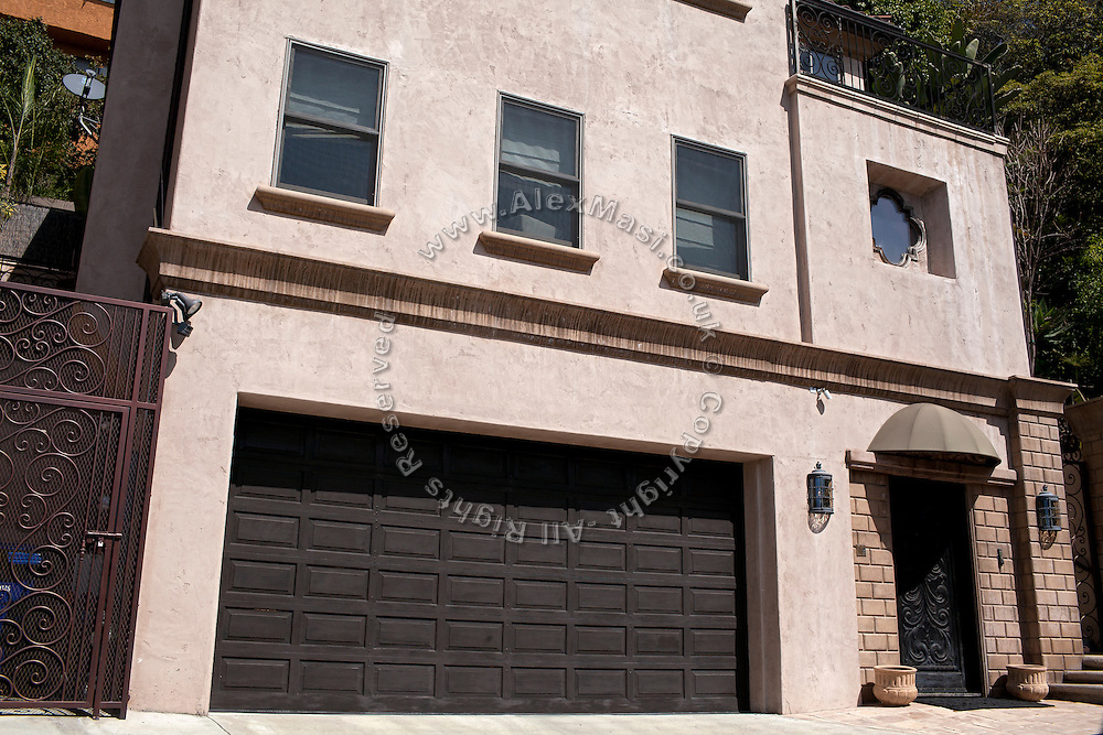 """The house of Audrina Patridge, (actress, """"The Hills"""") on the Hollywood Hills in Los Angeles, was robbed by the Bling Ring on February 22, 2009. (NOT FOR PUBLICATION: 6393 Bryn Mawr Drive, CA 90068, USA)"""