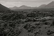 Lava fields Lanzarote