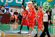 DESCRIZIONE : Siena Lega A 2008-09 Playoff Finale Gara 1 Montepaschi Siena Armani Jeans Milano<br /> GIOCATORE : Hollis Price Katelynas Mindaugas Yohann Sangare<br /> SQUADRA : Armani Jeans Milano<br /> EVENTO : Campionato Lega A 2008-2009 <br /> GARA : Montepaschi Siena Armani Jeans Milano<br /> DATA : 10/06/2009<br /> CATEGORIA : delusione<br /> SPORT : Pallacanestro <br /> AUTORE : Agenzia Ciamillo-Castoria/G.Ciamillo