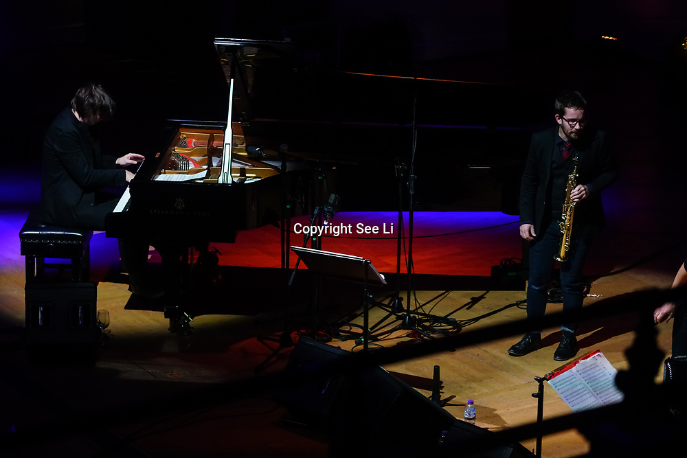 Out Of Land part of ACT 25th Birthday concert Michael Wollny,Andreas Schaerer,Vincent Peirani,Emile Parisien , Adam Bałdych on Sat 11th Nov at Cadogan Hall