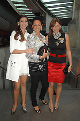 Centre, DAME GAIL RONSON with her daughters, left HAYLEY GOLDENBERG and right, LISA RONSON at the Roundhouse Rock and Roll Circus - an evening to raise funds for the Roundhouse's continued delivery of projects and facilities for young people, held at The Roundhouse, Chalf Farm Road, London on 12th June 2008.<br /><br />NON EXCLUSIVE - WORLD RIGHTS