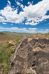 Petroglyph, Ladder Ranch, New Mexico, USA.