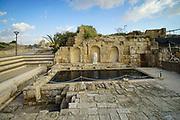 Israel, Caesarea General view of the site