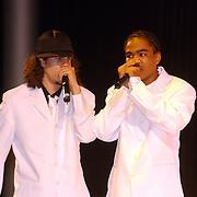 NLD/Amsterdam/20050908 - Finale Elite Modellook 2005, rappers