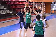 Chamutov 17 Agosto 2012 - qualificazioni Eurobasket 2013 - Allenamento<br /> Nella Foto : LUCA VITALI<br /> Foto Ciamillo/Castoria
