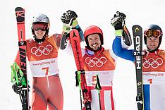 Alpine Skiing Men's Giant Slalom - 18 February 2018