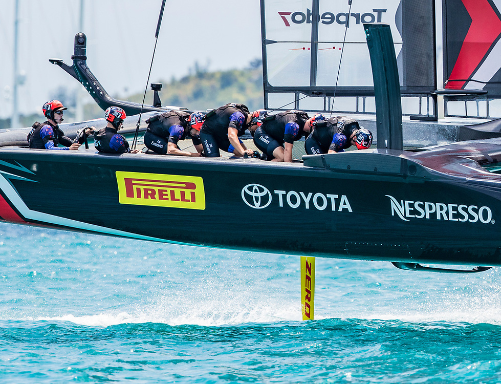 Emirates Team New Zealand<br /> <br /> 2017 35th America's Cup Bermuda