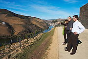 vineyard people looking at the view quinta do seixo sandeman douro portugal