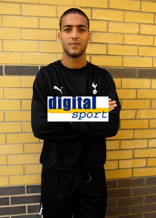 Photo: Daniel Hambury.<br />Tottenham Hotspur training session. 07/09/2006.<br />New Spurs signing Mido.