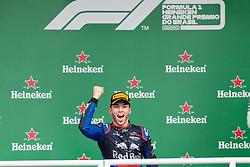 November 17, 2019, Sao Paulo, Sao Paulo, Brazil: PIERRE GASLY, of Toro Rosso Honda 2nd place of the Formula One Grand Prix of Brazil 2019 at Interlagos circuit, in Sao Paulo, Brazil, on Sunday, November 17. (Credit Image: © Paulo Lopes/ZUMA Wire)