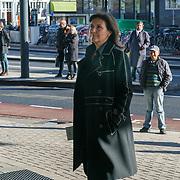 NLD/Amsterdam/20181027 - Herdenkingsdienst Wim Kok, Astrid Joosten